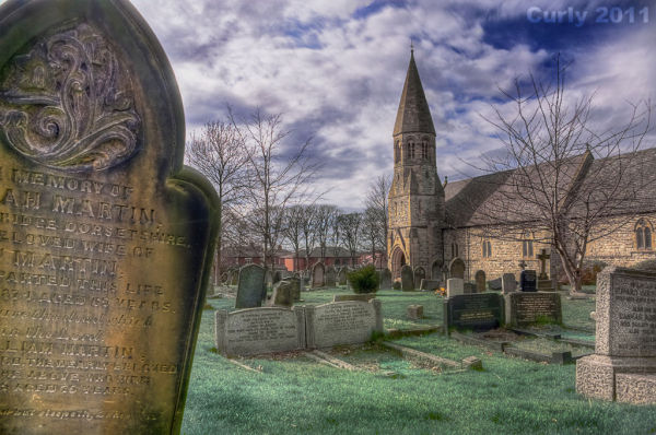 St. Peters church, Harton, South Shields