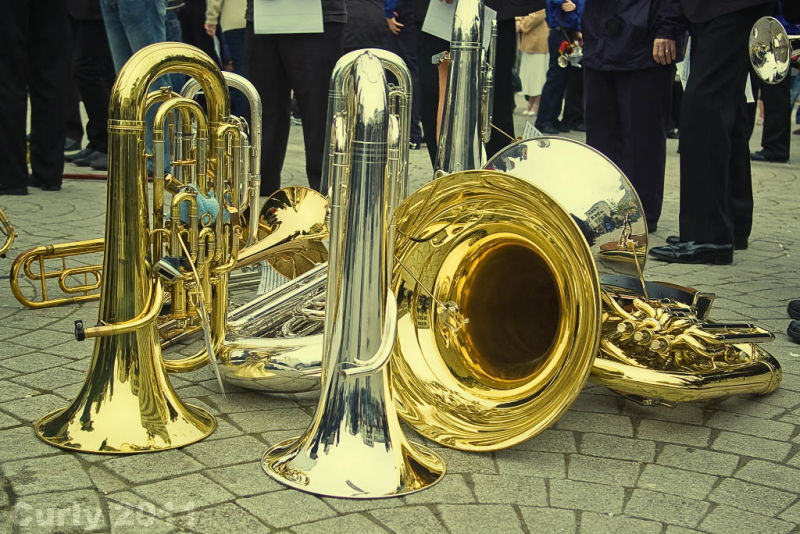 Instruments, Good Friday Parade, South Shields