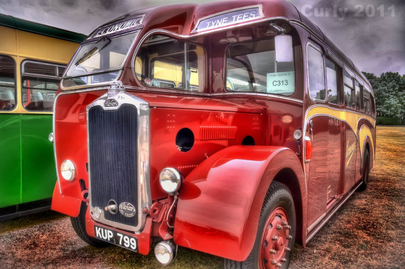 Economic bus, Bents Park, South Shields