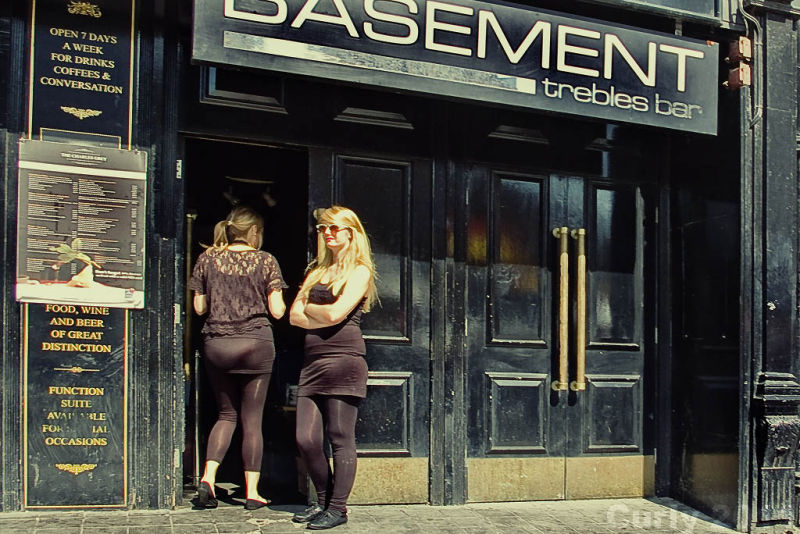 Basement bar, Newcastle-upon-Tyne