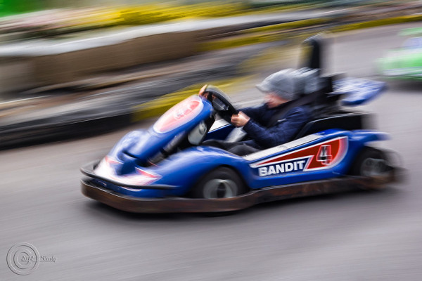 GoKart, South Shields fairground.