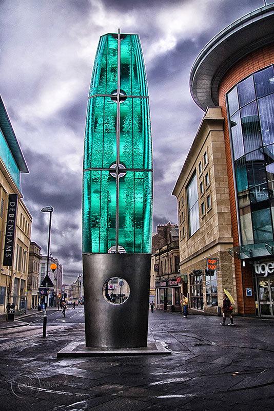 Street art, Newcastle-upon-Tyne