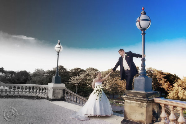 Wedding, South Marine Park, South Shields