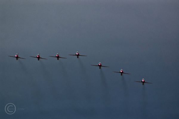 Red Arrows, Great North Run 2012, South Shields