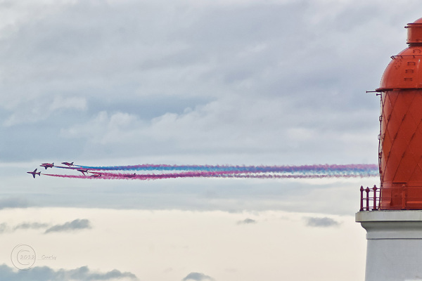 Souter and the Red Arrows.