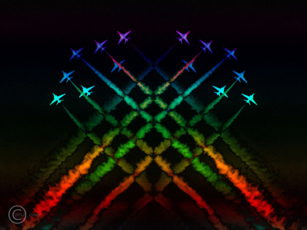 The RAF Red Arrows (abstract)