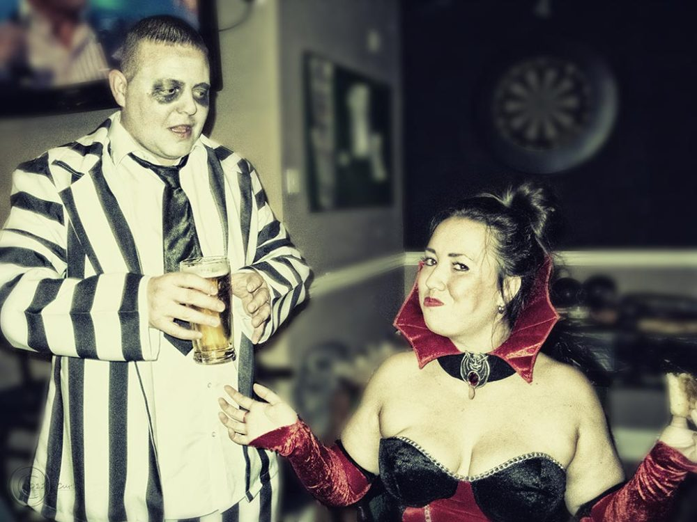 Steve's birthday, South Shields Snooker Centre