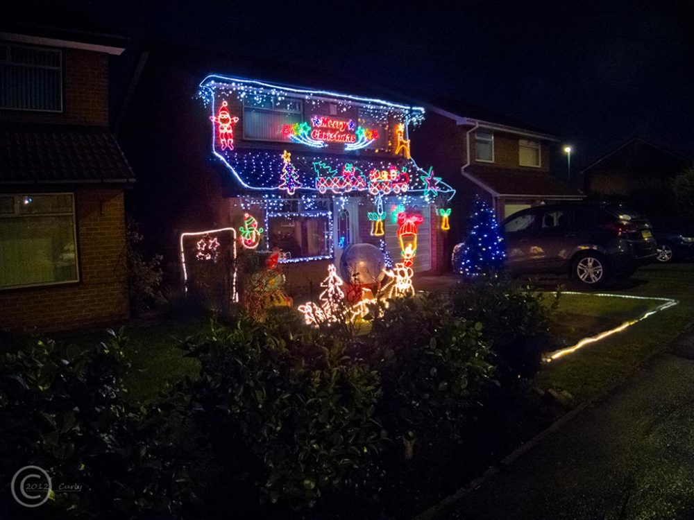 Decorated house, Dykelands Way, South Shields