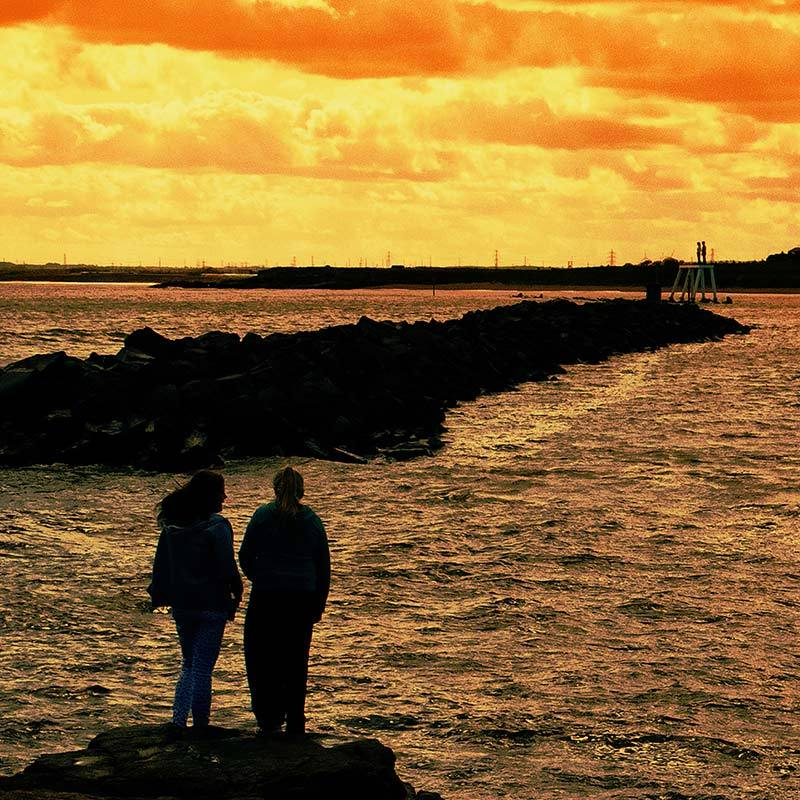 Newbiggin by the sea, Northumberland.