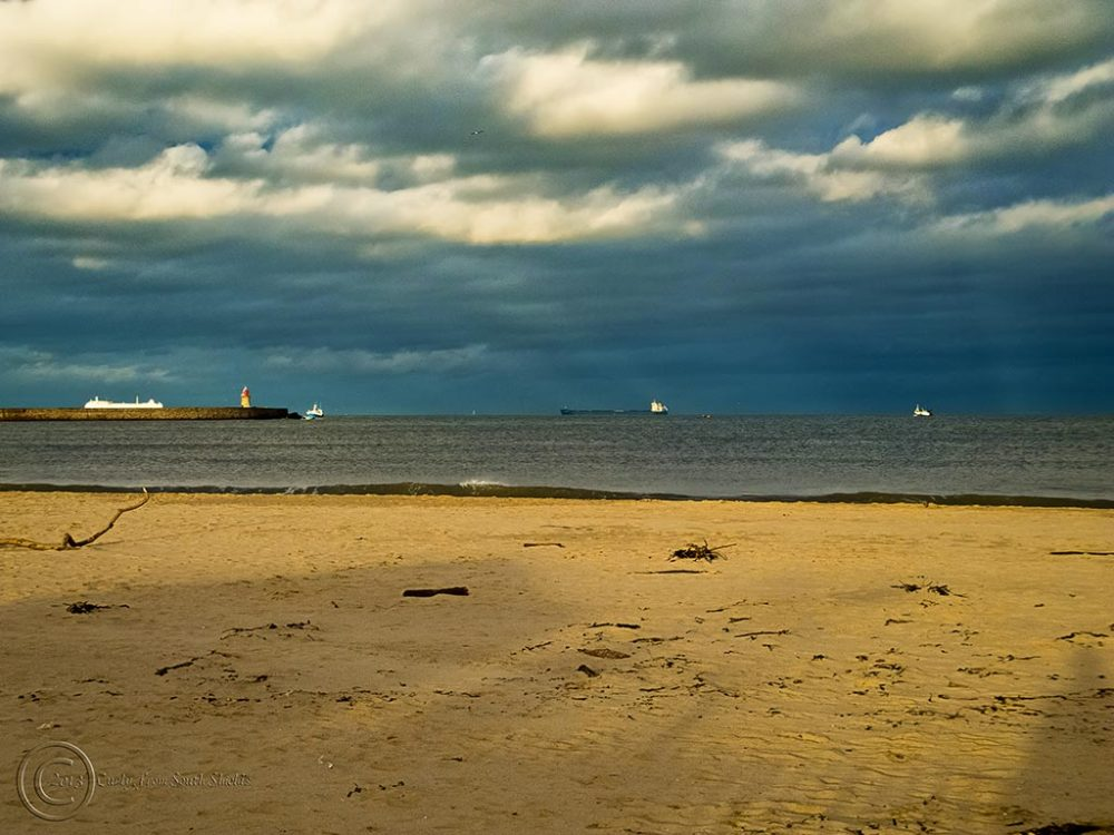 Ships off the Tyne, South Shields