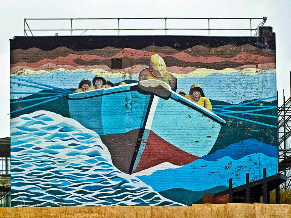 Mural, South Shields Market Place