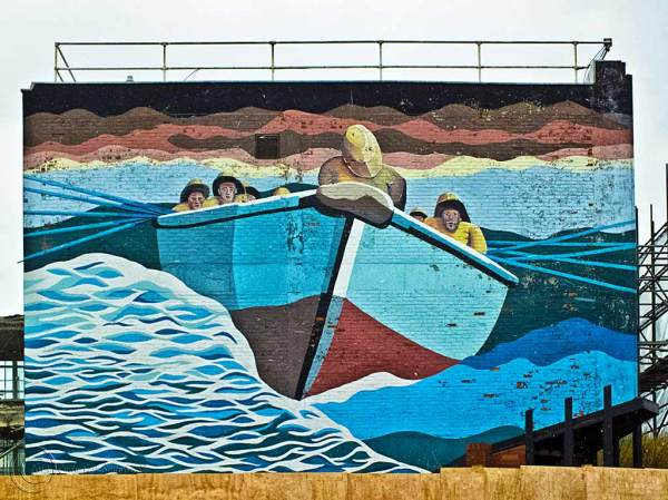 Mural, South Shields Market Place