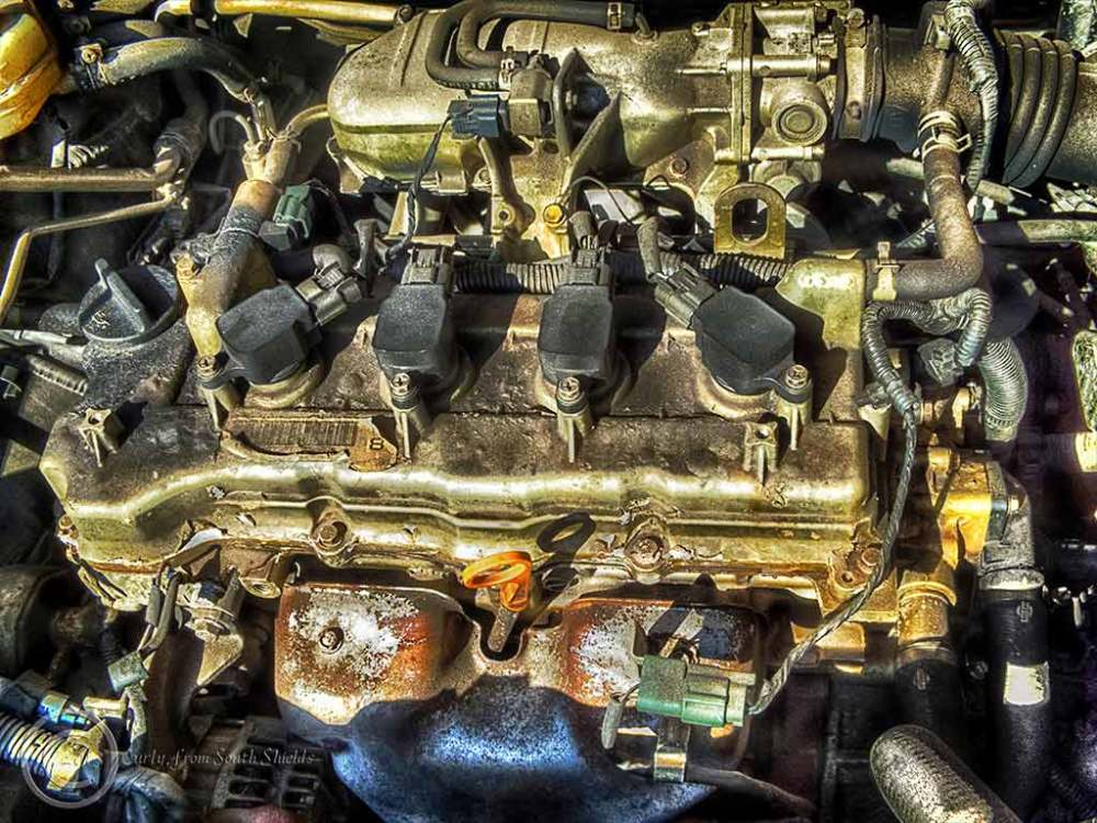 NIssan engine, South Shields, UK