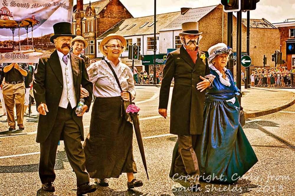 Summer Festival Parade, South Shields, 2013