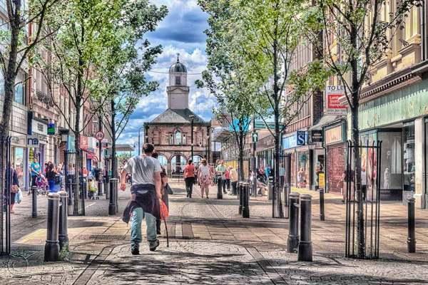 King Street, South Shields UK
