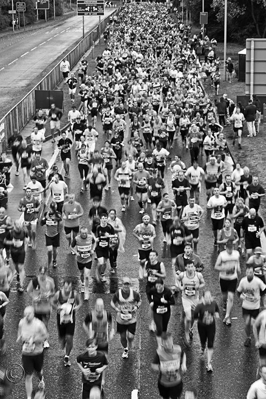 Great North Run, South Shields 2013