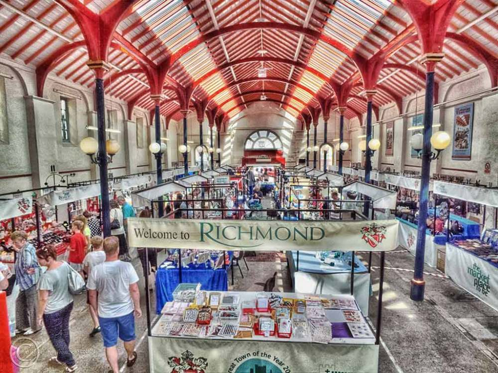 Richmond Market Hall, North Yorkshire