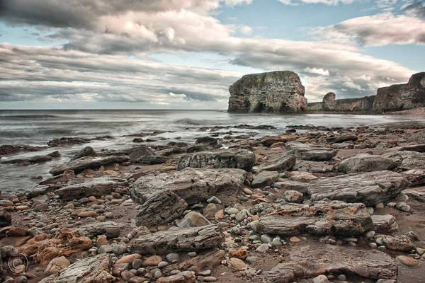 Marsden Rock, South Shields UK