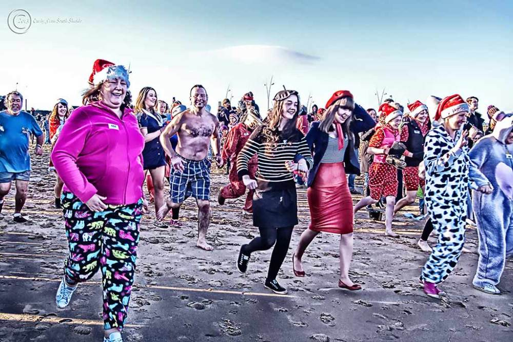 Boxing Day Dips, South Shields UK