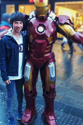 The day I met Iron Man