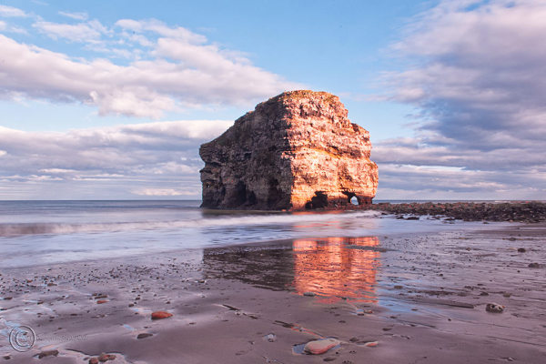 Marsden Rock, South Shields, UK