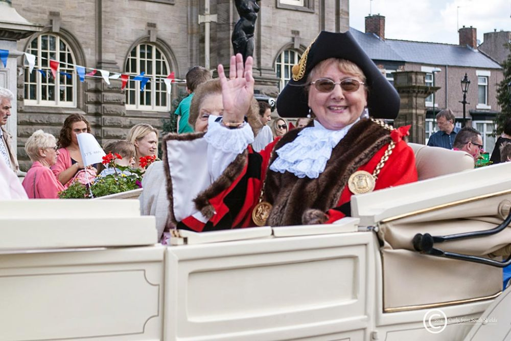 Mayor of South Tyneside Fay Cunningham
