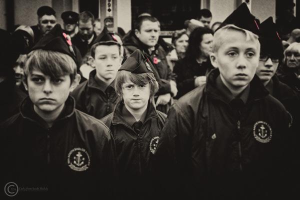 Remembrance Sunday, South Shields 2014