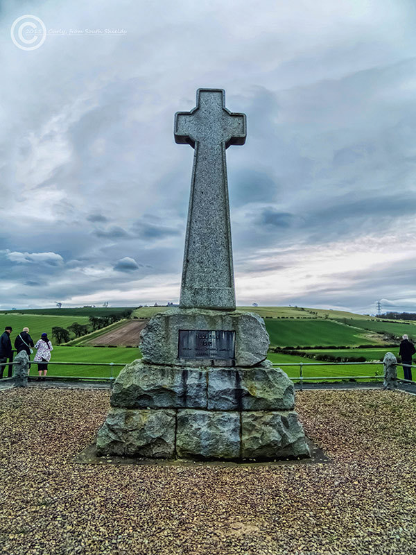 Memorial to the Battle of Flodden Field, Northumbe