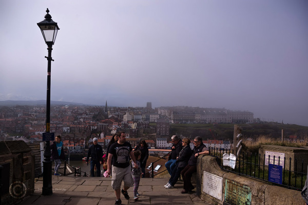 View from St. Mary's, Whitby