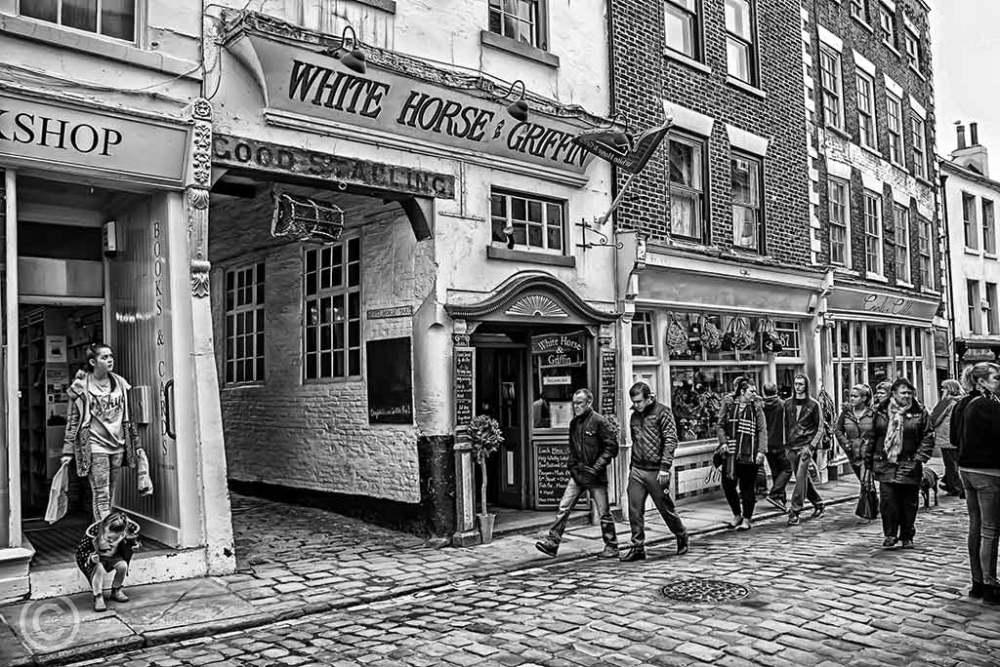 Church Street, Whitby, North Yorks, UK