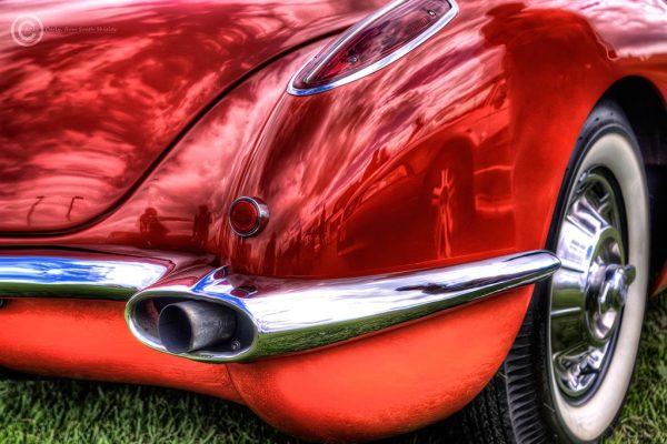 American Car Show in South Shields, Corvette