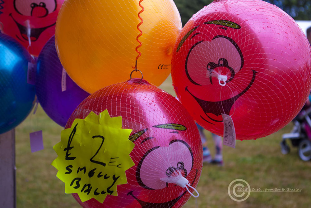 Ballons, Bents Park, South Shields