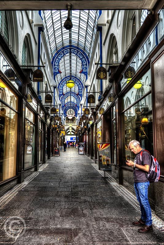 Thornton Arcade in Leeds, West Yorks