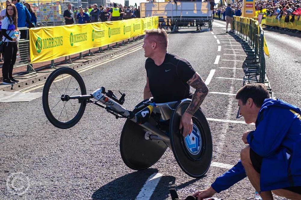 David Weir, Great North Run, South Shields 2015