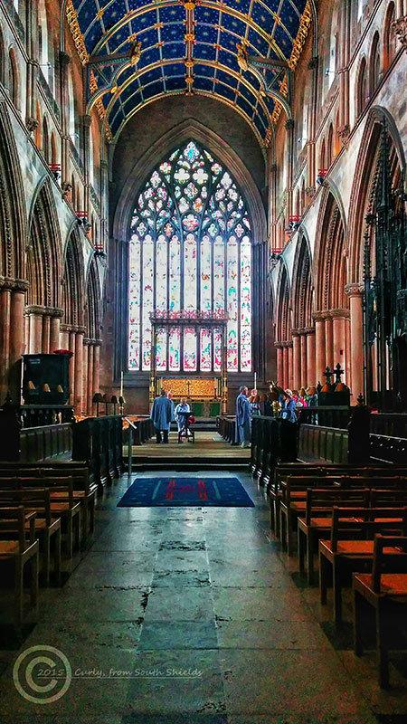 Carlisle Cathedral, Cumbria, England
