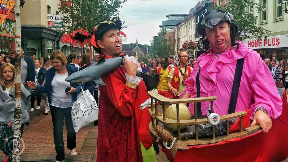Carlisle carnival, England