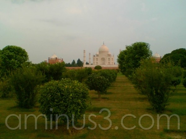 Taj View to Mehtab Bagh