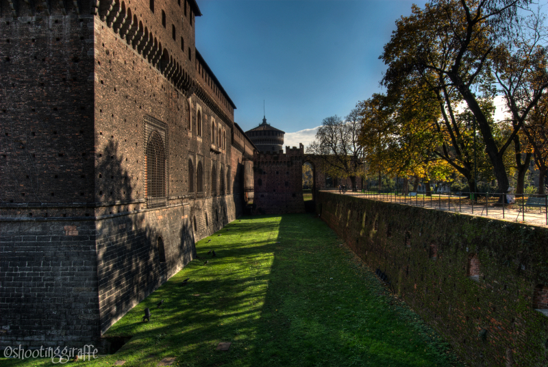 A quick tour of Milan (3 of 6): il Castello