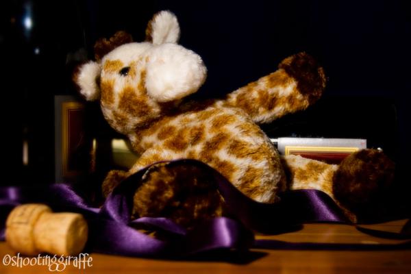 a drunken giraffe