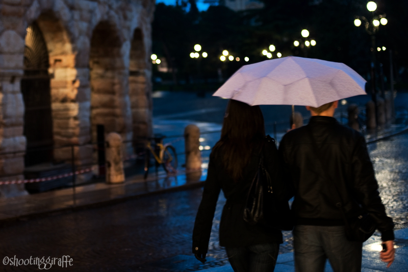 24h in Verona: rain, bicycles, people. (6 of 6)