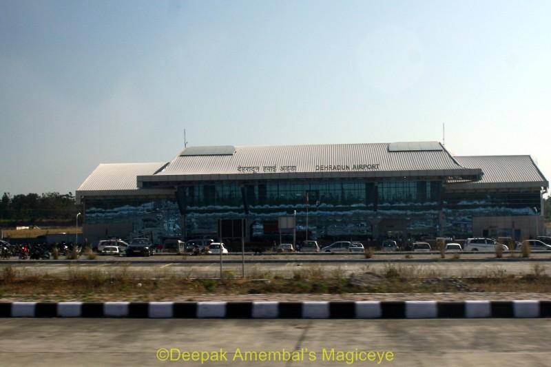 The Dehradun airport - Architecture Photos
