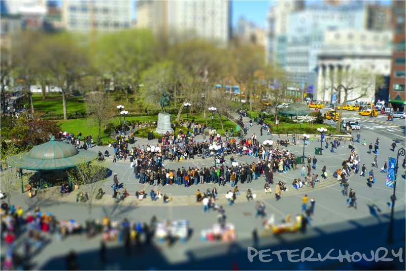The little people of Union Square