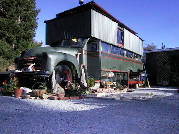 old house truck