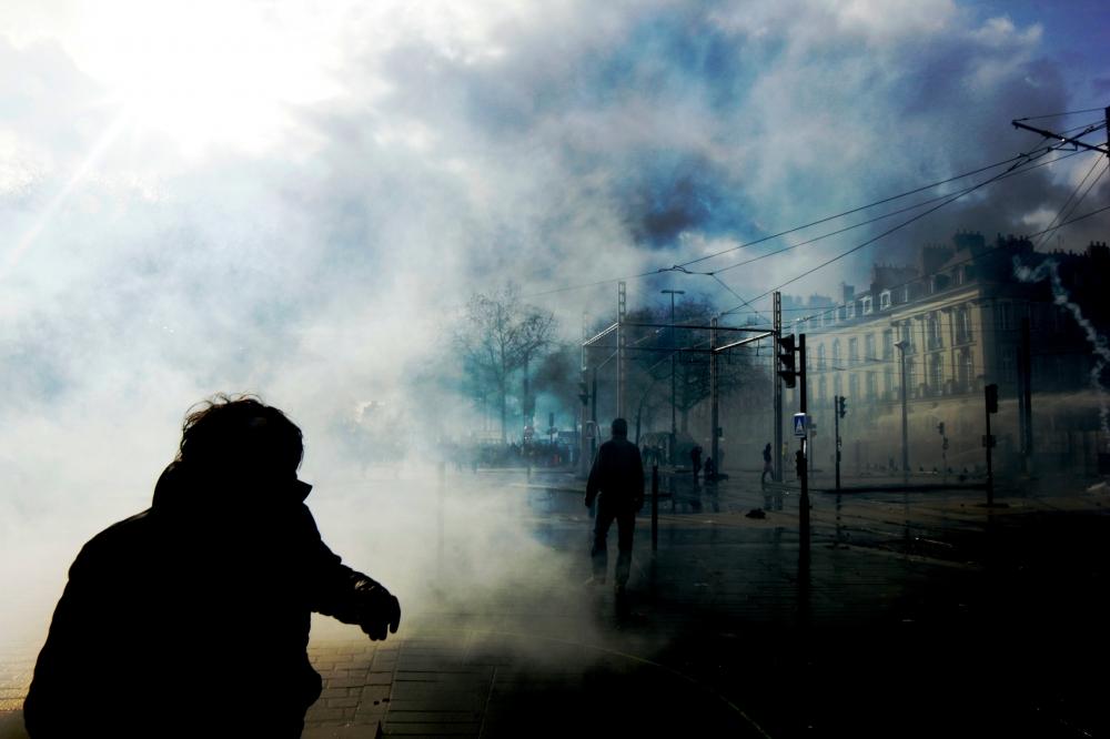 22 fervrier à Nantes Manif anti-aéroport
