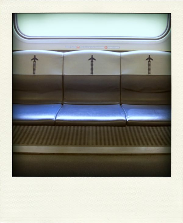 Poladroid: AirTrain, JFK to Jamaica