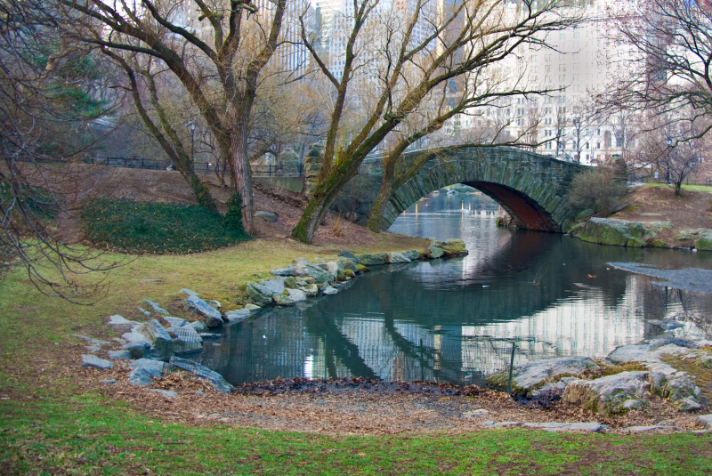 Gapstow bridge other side