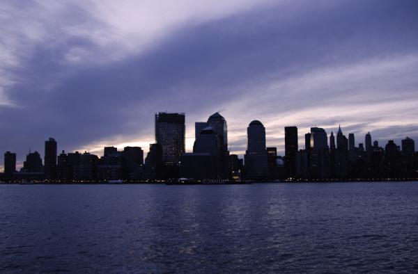 Morning light ver the city