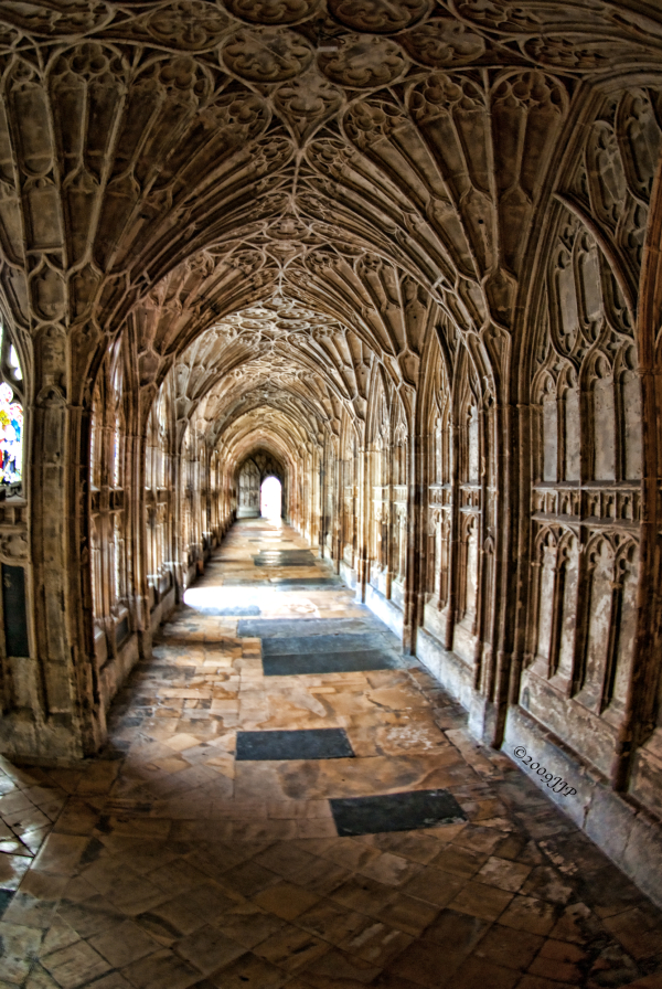 Another Hallway in the cathedral