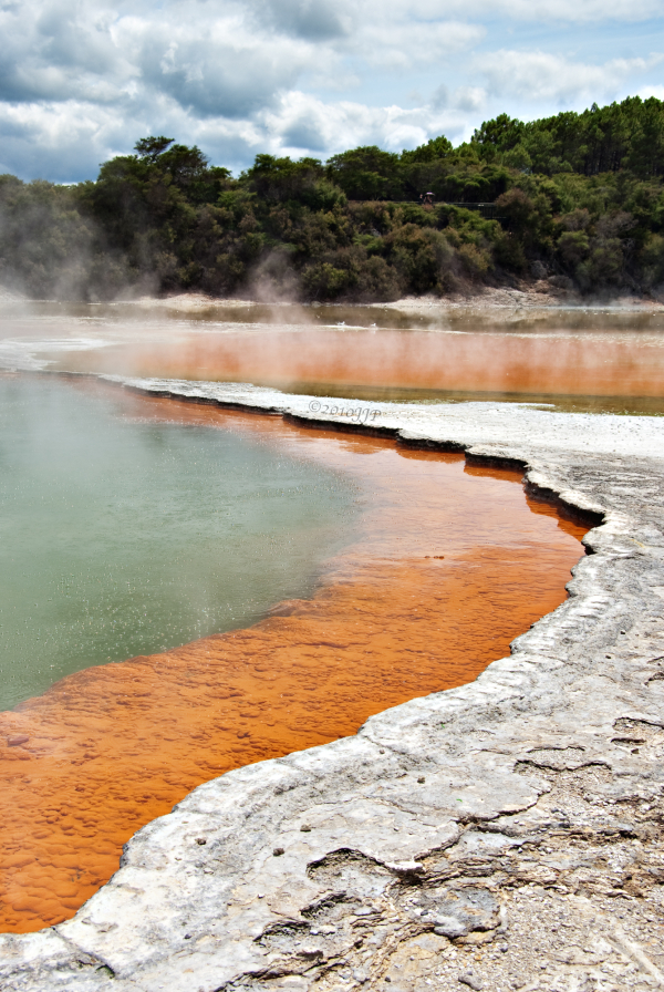 Layers of geothermal color