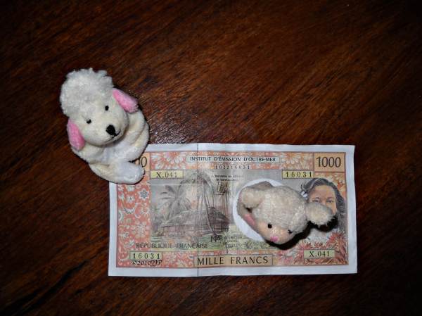 Soft toys and a Million francs
